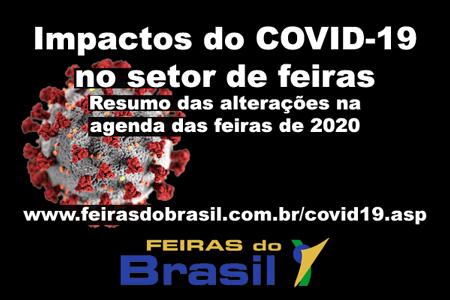 Impactos do COVID-19 no setor de feiras